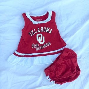 Other - Oklahoma (OU) Sooners Bloomer Set
